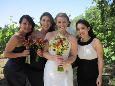 bride and bridesmaids big
